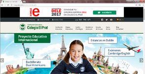 Web Colegio El Prat gestionada por MODUSOPERANDI